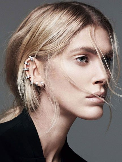 piercings are back see which models amp musicians are in on