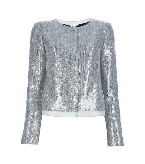 Diane Von Furstenberg Tamali Sequin Jacket