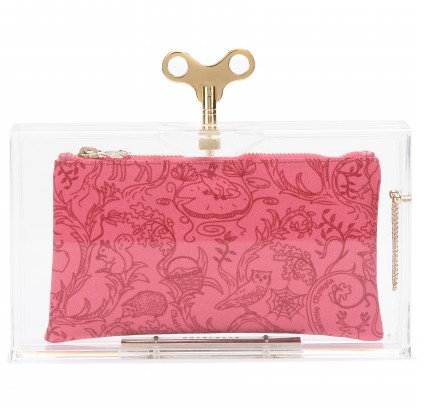 Charlotte Olympia Wind Up Pandora Clutch