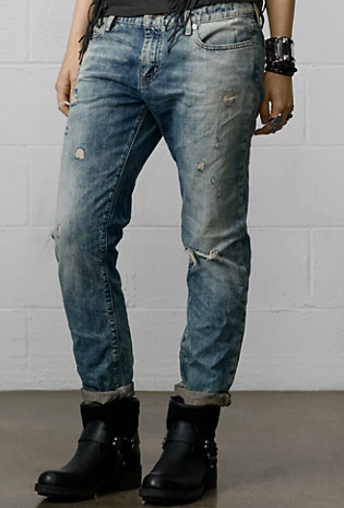 Ralph Lauren Denim & Supply Oceanside Skinny Boyfriend