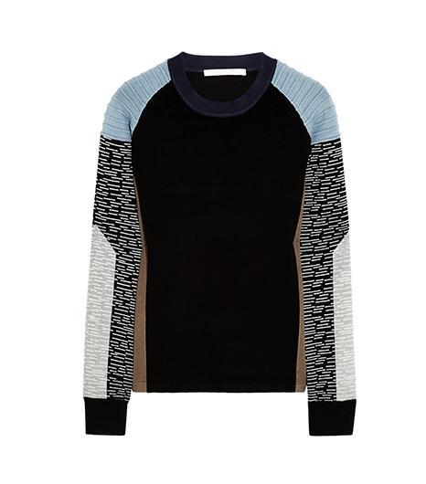 Jonathan Simkhai Color-Block Jersey Sweater
