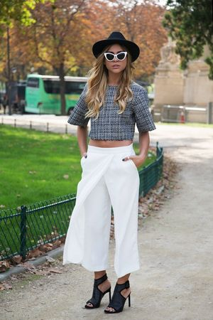 Two European Bloggers, Two Ways To Style Culottes