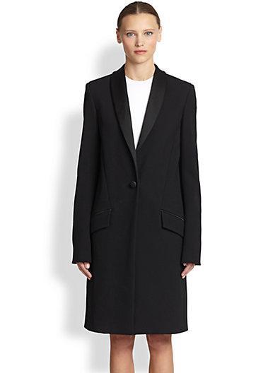 Proenza Schouler  Long Tuxedo Coat