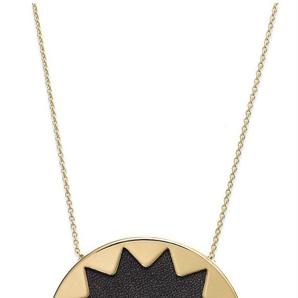 House of Harlow  Sunburst Pendant Necklace