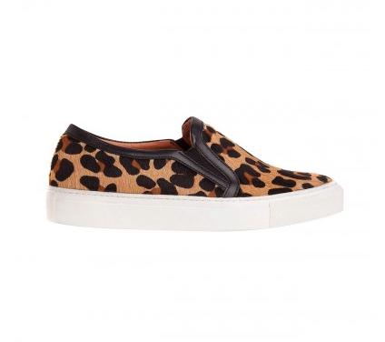 Sandro  Anaconda Leopard Sneakers
