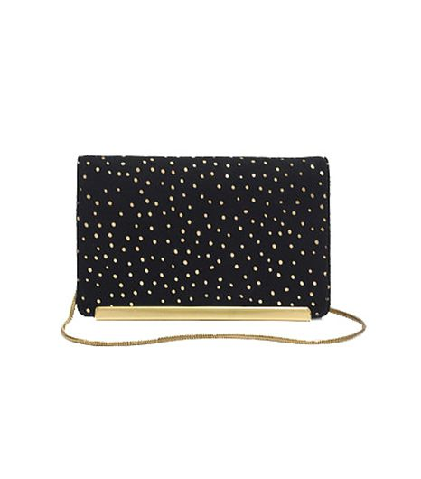 Madewell Madewell The Friday Clutch In Foil Dot