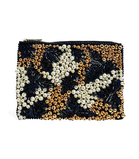 Asos Asos Embellished Pearl Clutch