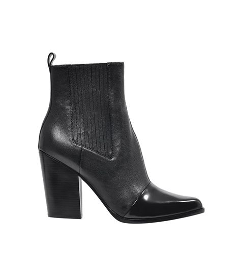 Kenzo  Kenzo Two Tone Leather Chelsea Boot ($632)