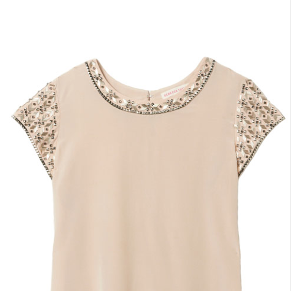 Rebecca Taylor Rebecca Taylor Embellished Tee