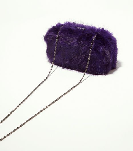 Topshop Fur Box Bag