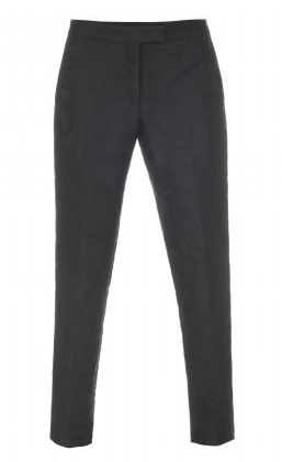 Paul Smith  Black Floral Jacquard Pants