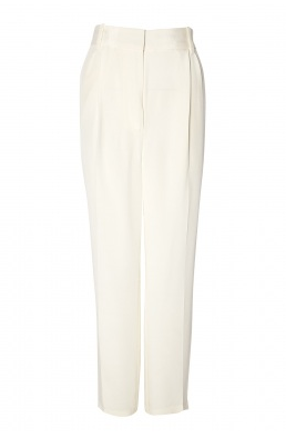 3.1 Phillip Lim  Silk Double Pleated Wide Leg Trousers