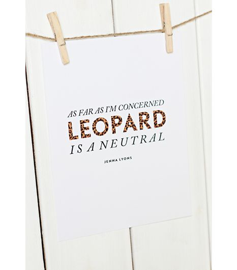 SS Print Shop  SS Print Shop Leopard is a Neutral Print