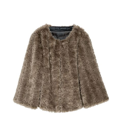 Zara  Zara Short Furry Jacket