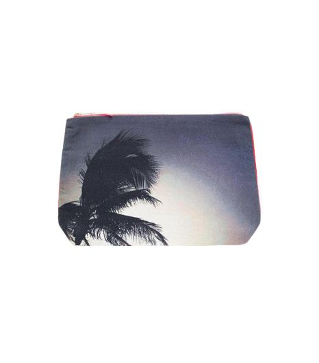 L-atitude Mumbai Palm Pouch