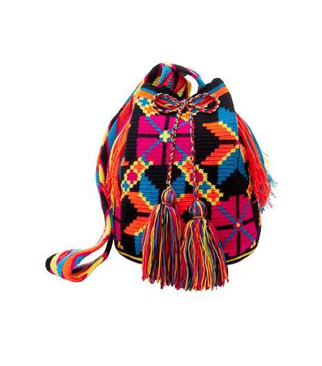 L-atitude Black Multi Cartagena Mochila Bag
