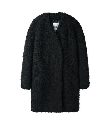 Kenzo Kenzo Faux Fur Coat