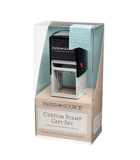 Paper Source  Custom Stamp Gift Box