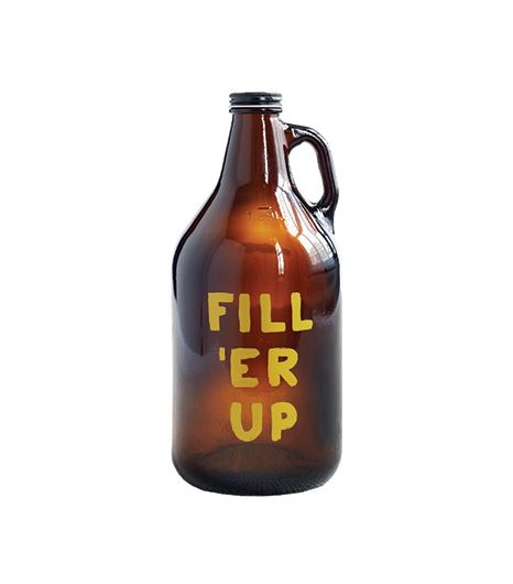 West Elm Market  Printed Growler