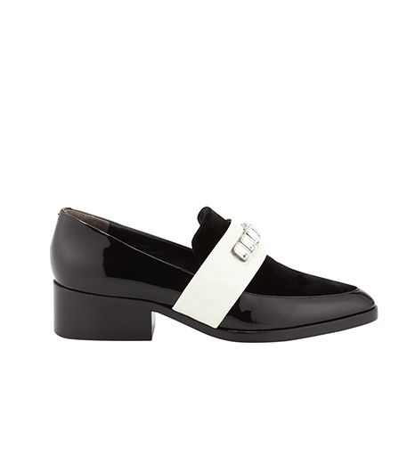 3.1 Phillip Lim 3.1 Phillip Lim Quinn Embellished-Strap Pointy-Toe Loafer