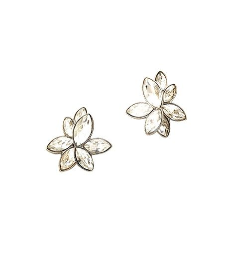 Ann Taylor  Marquise Cluster Earrings