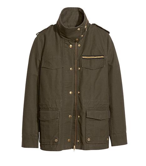 H&M  Cotton Canvas Jacket