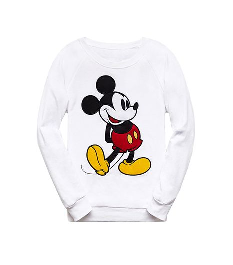 Forever 21  Mickey Mouse Raglan Sweatshirt ($
