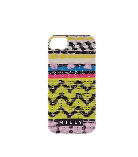 Milly  Raffia Print iPhone 5 Case