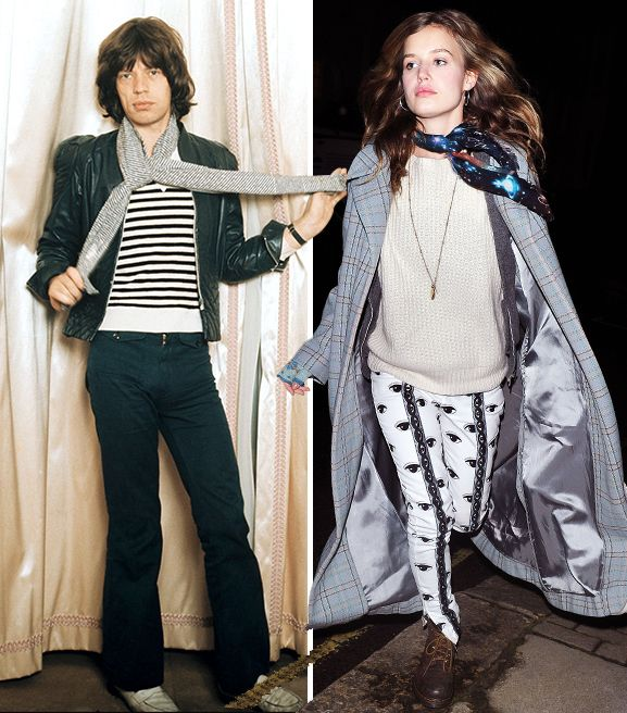 Who Wore It Better? Jagger Versus Jagger