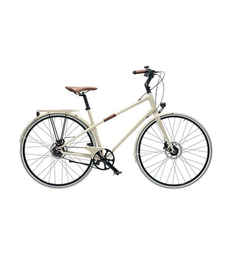 Hermès Le Flâneur Carbon And Taurillon Calfskin Leather Leisure Bicycle
