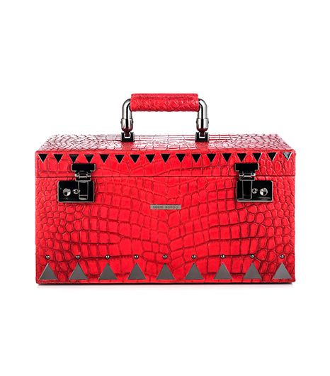 Eddie Borgo Eddie Borgo Crocodile Embossed Jewelry Box