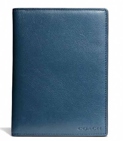 Coach Bleecker Legacy Passport Case