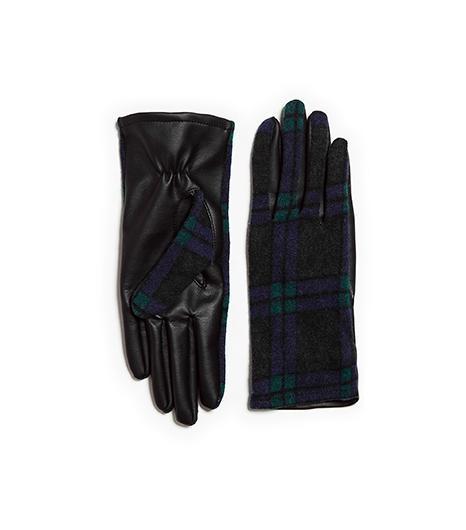 Zara  Zara Combined Leather Glove