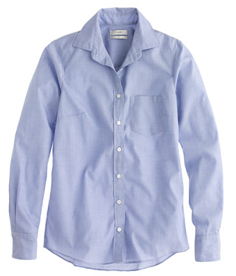 J.Crew  Boy Shirt In End-On-End