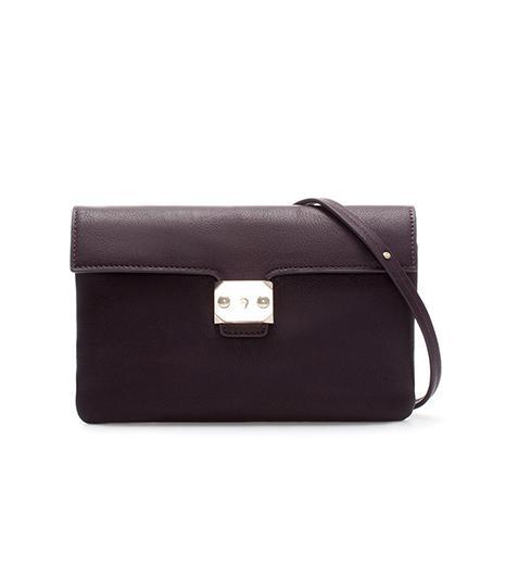 Zara  Zara Mini Messenger Bag With Clasp