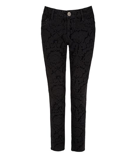 L'Wren Scott Banana Republic L'Wren Scott Banana Republic Brocade Skinny Ankle Jeans