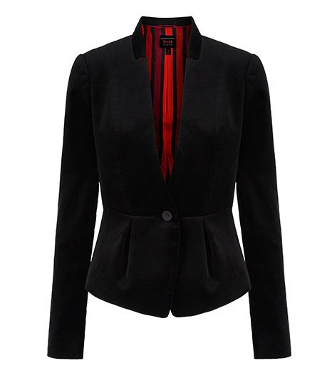 L'Wren Scott Banana Republic L'Wren Scott Banana Republic Velvet Bow-Back Jacket