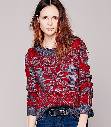 Holiday Sweaters You'll Actually Want To Wear