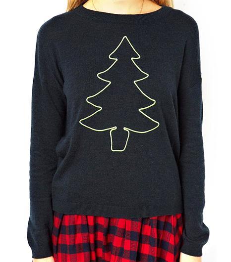 ASOS ASOS Christmas Tree Jumper