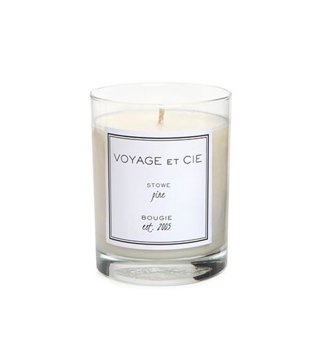 Voyage et Cie Voyage et Cie Classic High Ball Candle in Black Box