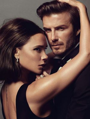 Hottest Couple Ever? Victoria and David Beckham Pose For Vogue Paris