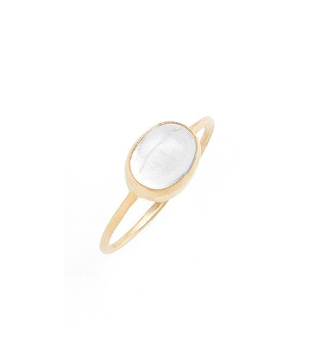 Melissa Joy Manning  Melissa Joy Manning Oval Semiprecious Stone Ring