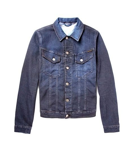 Nudie Jeans  Nudie Jeans Perry Overdyed Organic Denim Jacket