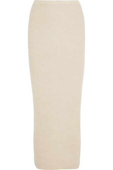 Donna Karan  Stretch-Cashmere Tube Maxi Skirt