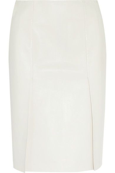 Fendi  Leather Pencil Skirt