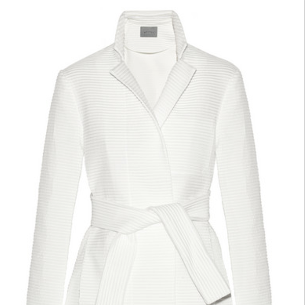 Maiyet  Ribbed Jacquard Trench Coat
