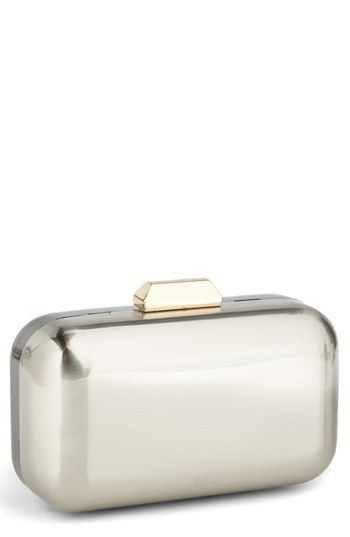 Sondra Roberts  Two Tone Box Clutch