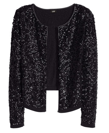 H&M  Sequined Cardigan