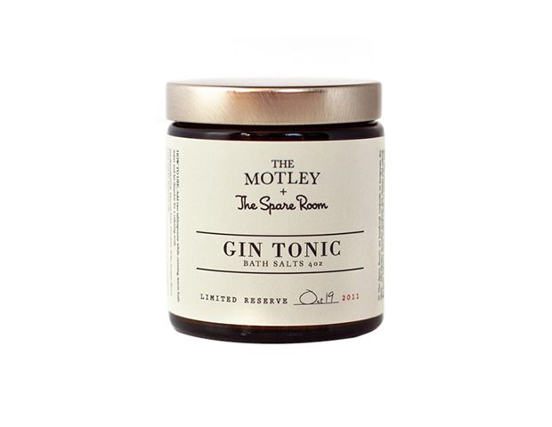 The Motley + The Spare Room  Gin Tonic Bath Salts