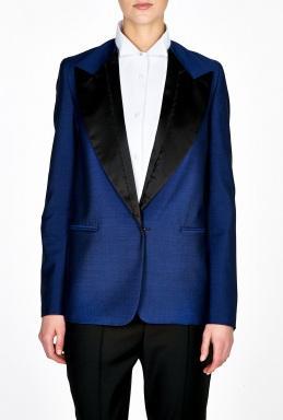 Acne  Cast Tuxedo Jacket with Contrast Lapel